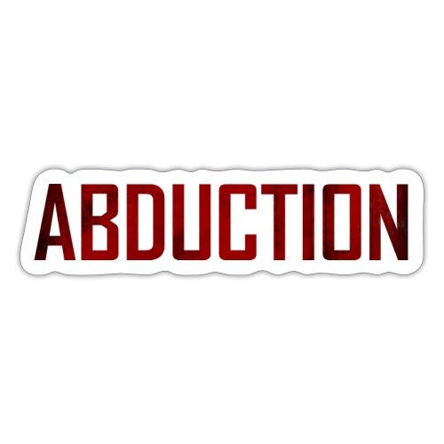 Abduction Classic on White - Sticker