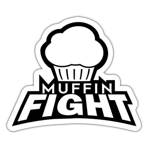 Muffin Fight Logo - Sticker