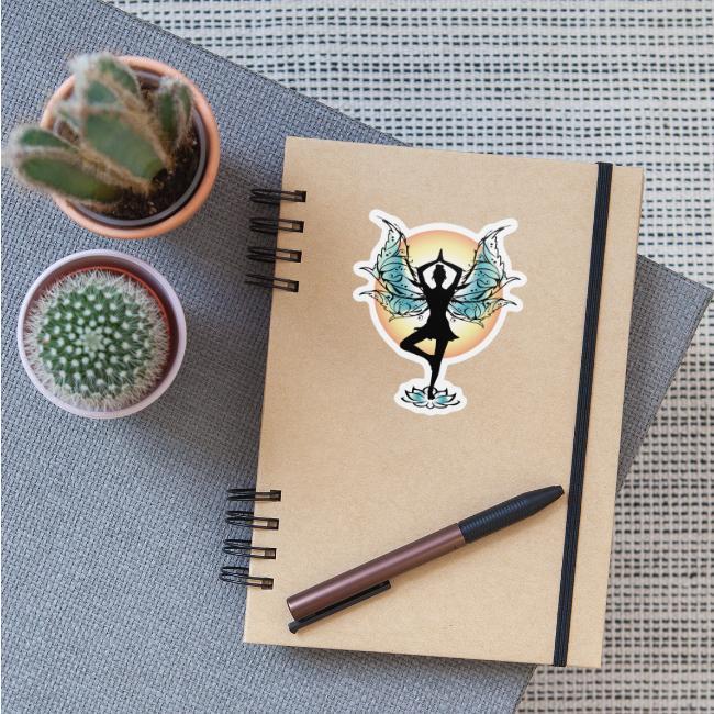 Tree Pose Yoga Fairy