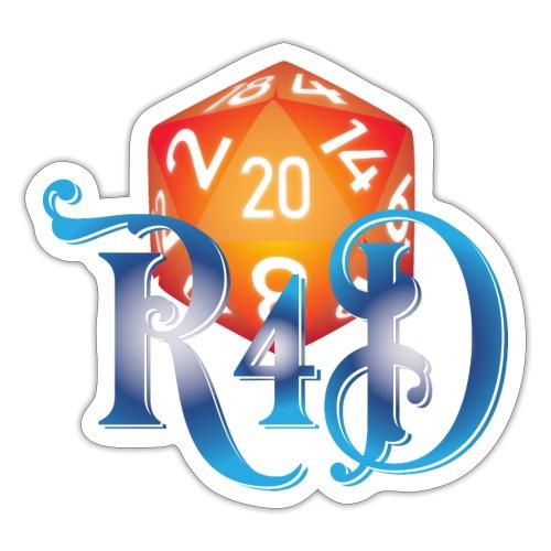 R4D Logo - Sticker