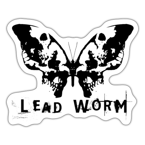 Lead Worm - logo - Sticker