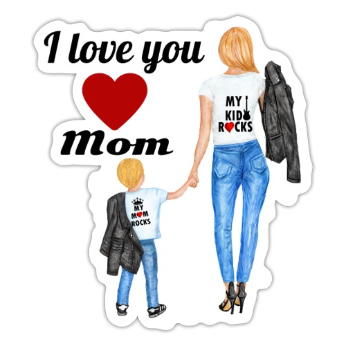 Mother's day gift from daughter, Mother's Day Gift - Sticker