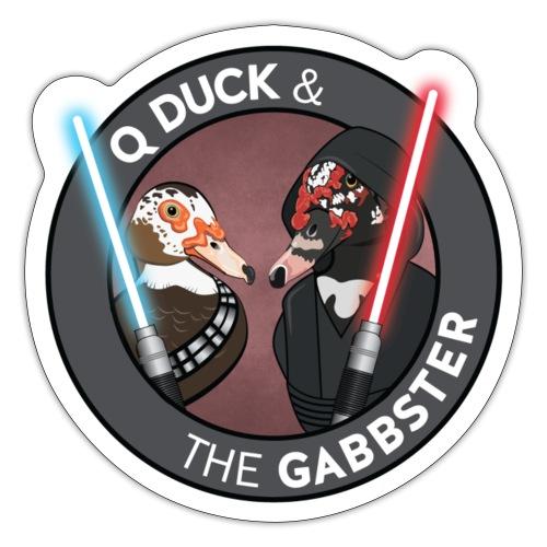 Q and Gabbs - Jedi Ducks - Sticker