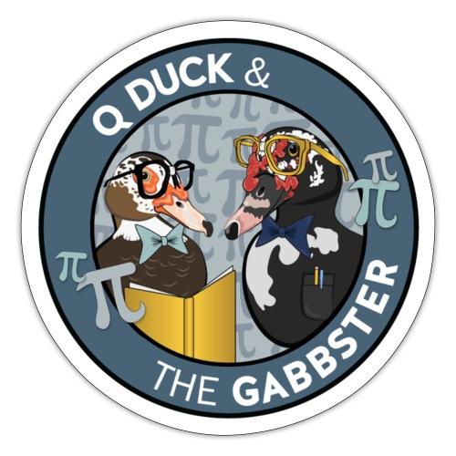 Q and Gabbs - Brainy Ducks - Sticker