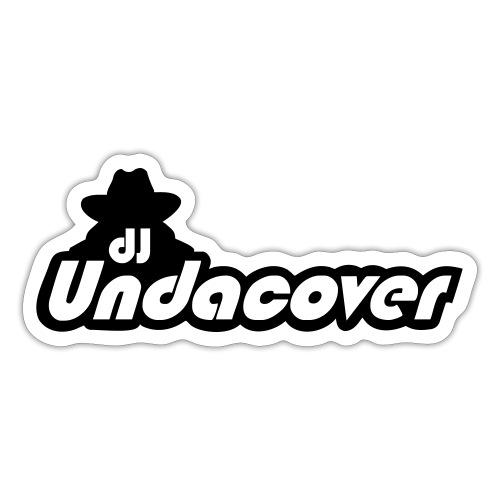 dj UndaCover LOGO - Sticker