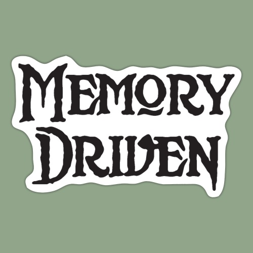 Memory Driven Logo - Sticker