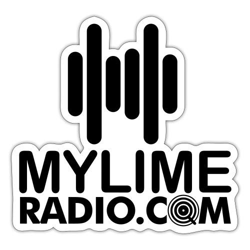 MyLimeRadio MAIN LOGO (Solid) - Sticker