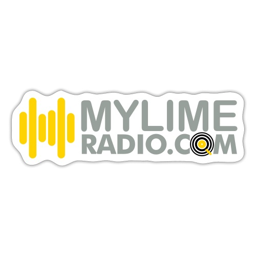 MyLimeRadio ALT LOGO (Tri Colour) - Sticker