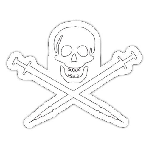 Vaccine Death - Sticker