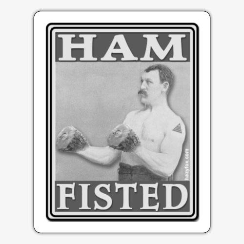 hamfstk - Sticker