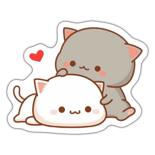 Love Cats - Sticker