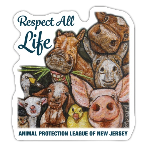 Respect All Life - Sticker
