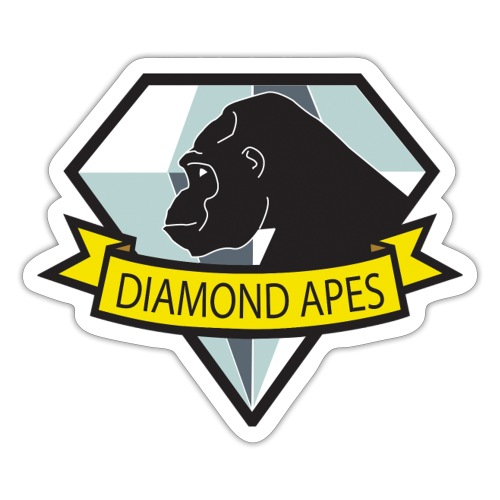 diamondape - Sticker