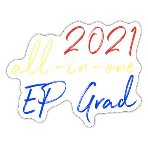 2021 All-in-One EP Grad - Sticker