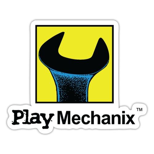 Play Mechanix Logo_ BLK - Sticker