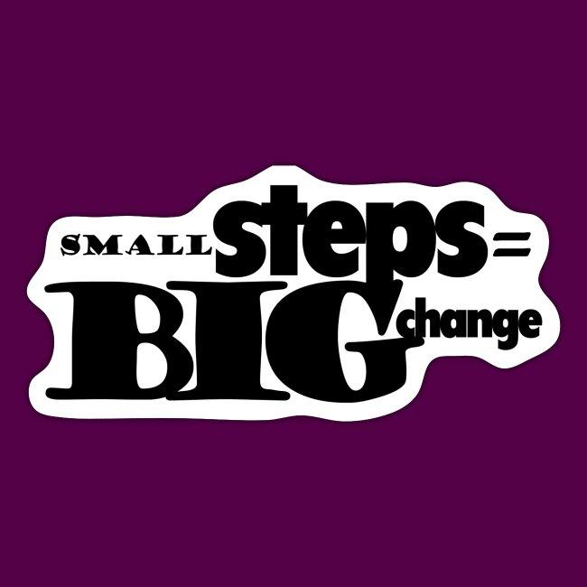 small steps black