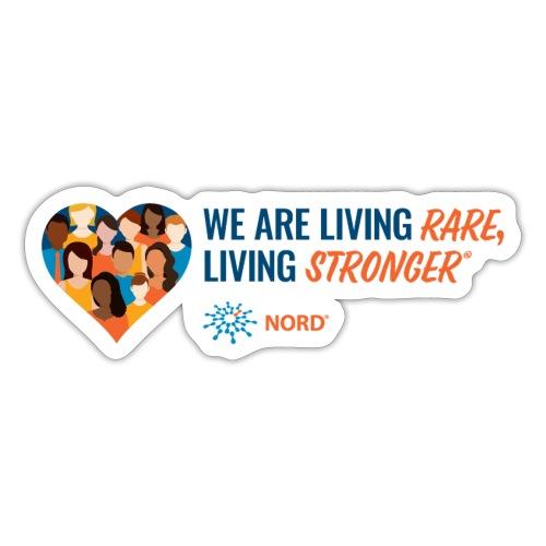 Living Rare, Living Stronger 2021 - Sticker
