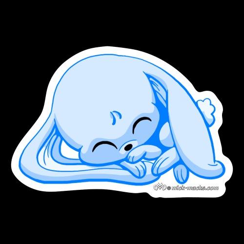 Blue Bunny - Sticker