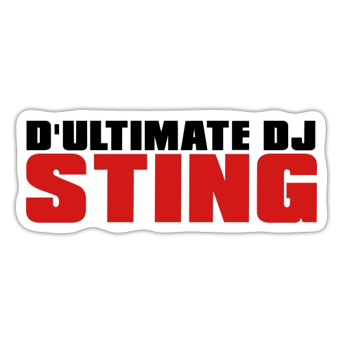 D Ultimate Sting LOGO - Sticker