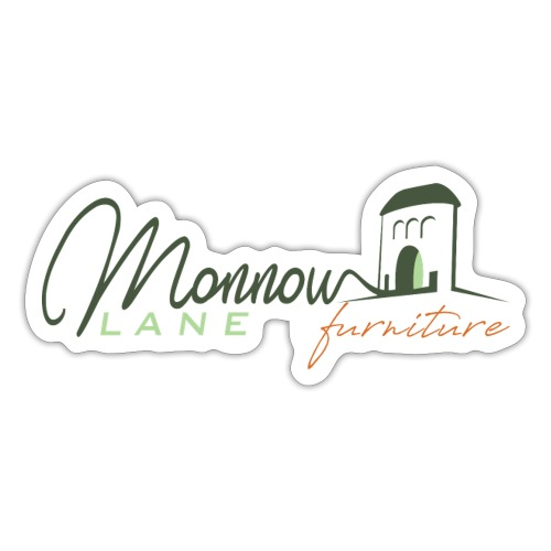 Monnow Lane Furniture Logo - Sticker
