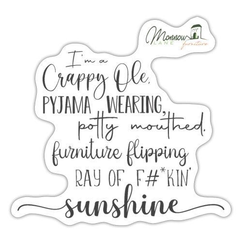 Ray of Sunshine - Sticker