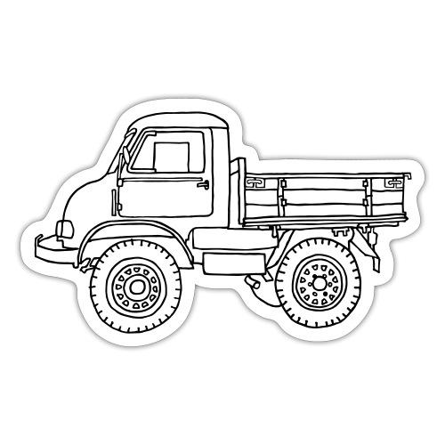 Off-road truck, transporter - Sticker