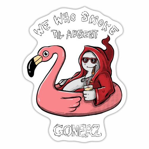 GONERZ summer (black font) - Sticker