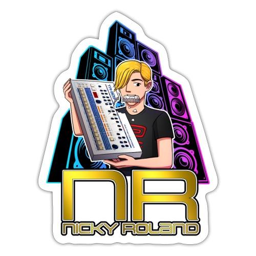 Nicky Roland - 909 - Sticker
