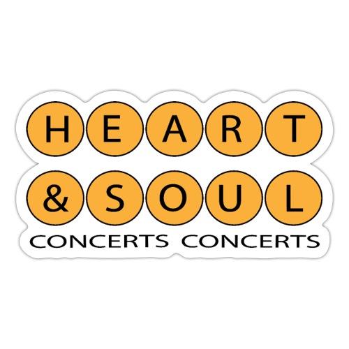 Heart Soul Concerts Golden Bubble horizon - Sticker