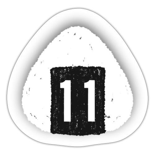 Onigiri Highway 11 Hawaii (dropshadow) - Sticker