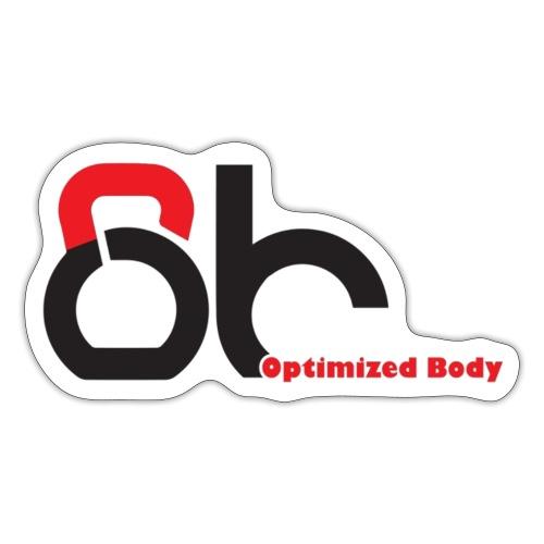 Logo Optimized Body - Sticker