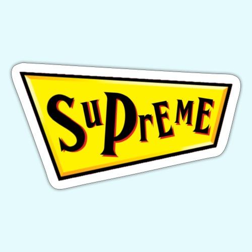 Supreme Schmackos - Sticker