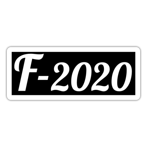 F-2020 - Sticker