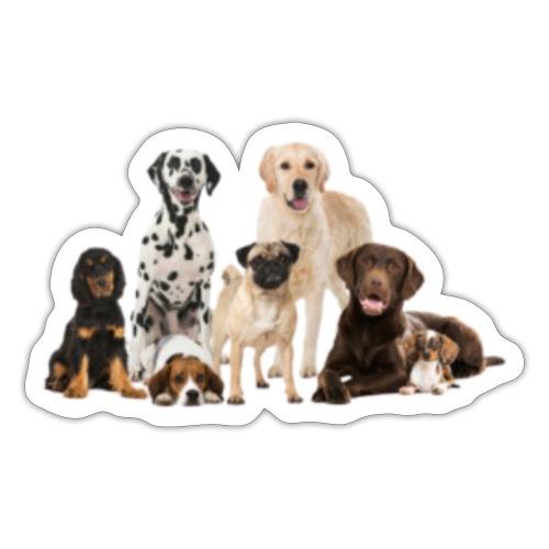 German shepherd puppy dog breed dog - Sticker