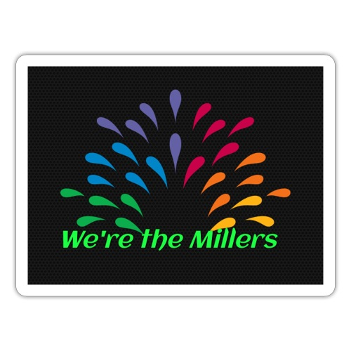 We're the Millers logo 1 - Sticker