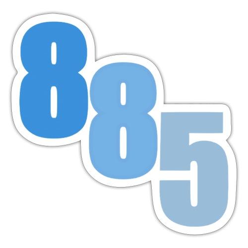 885 Blue - Sticker
