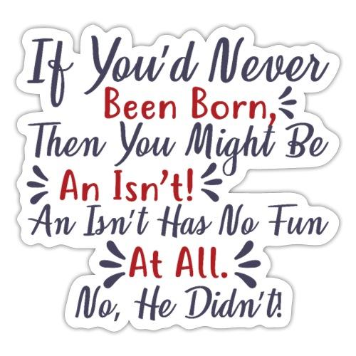 Dr Seuss 051 - Sticker