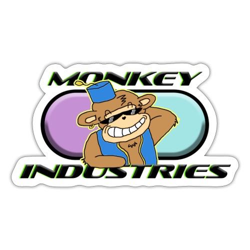 CLASSIC CHILLIN MONKEY - Sticker