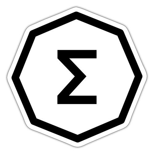 Ergo Symbol White - Sticker