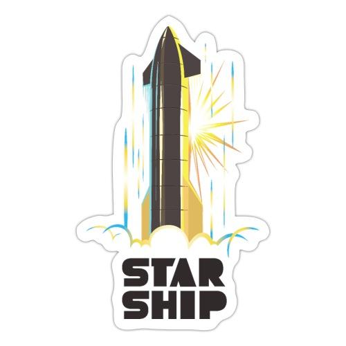Star Ship Earth - Light - Sticker