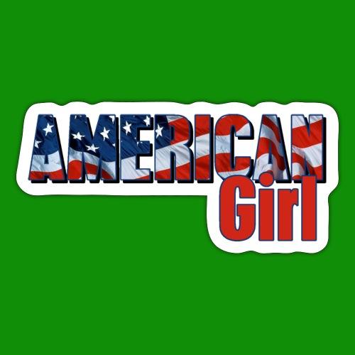 AMERICAN GIRL - Sticker