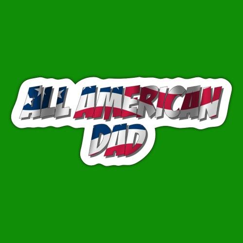 ALL AMERICAN DAD - Sticker