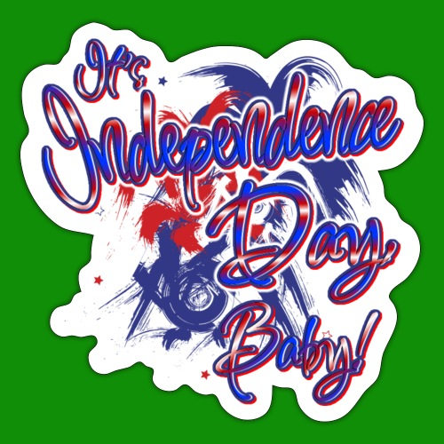 Independence Day Baby - Sticker