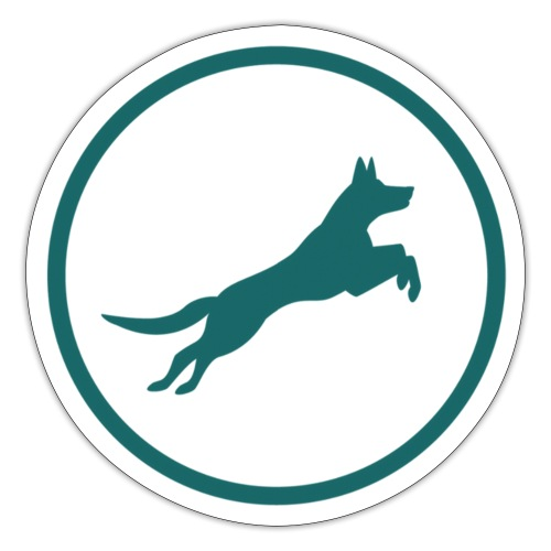 Born2BWild Logo2 - Sticker