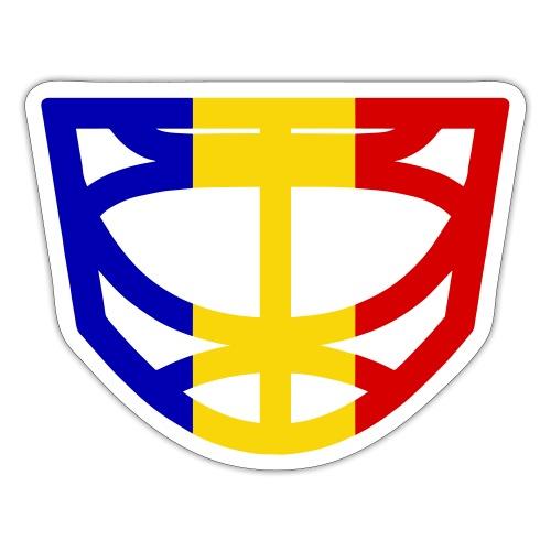 Goalie Cage - Romania - Sticker