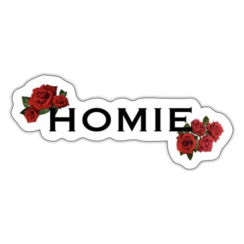 HOMIE ROSE BLKFONT - Sticker
