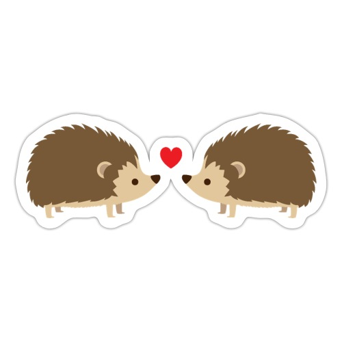 Hedgehog Lovers - Sticker