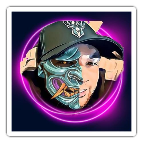 Oni mask - Sticker