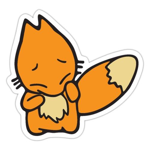 Scaredy Fox - Sticker