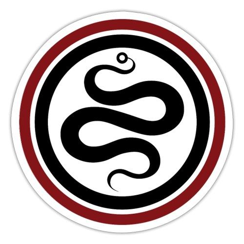 kundalini project logo circle red - Sticker